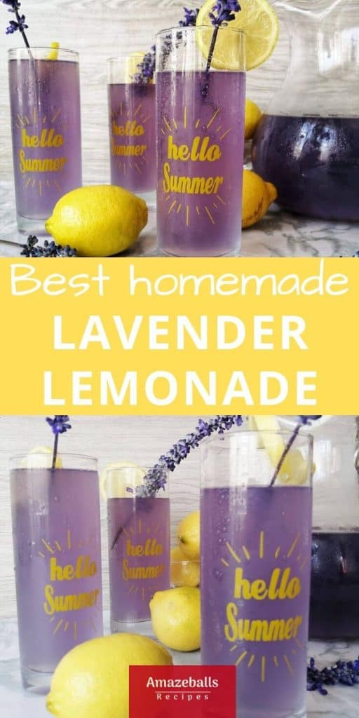 Health benefits of lavender lemonade with honey