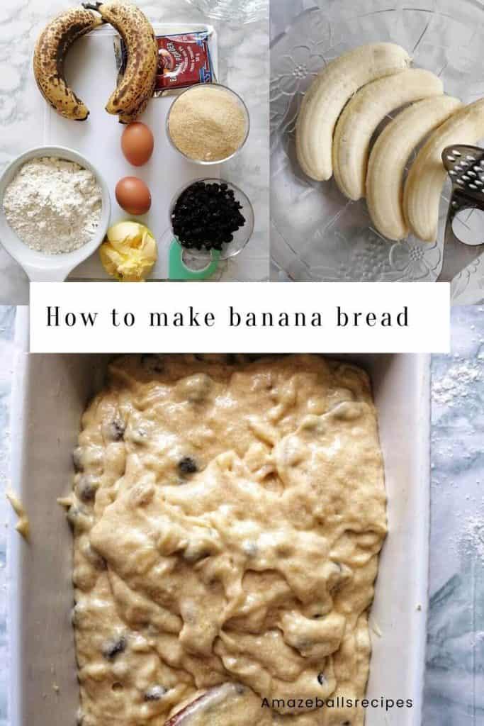 how to make healthy banana bread