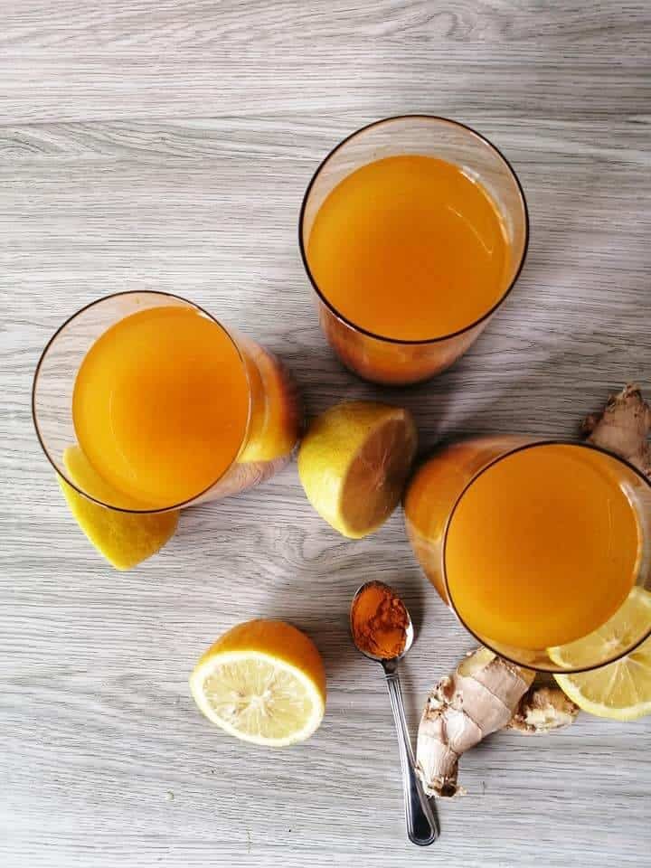 lemon water and turmeric benefits