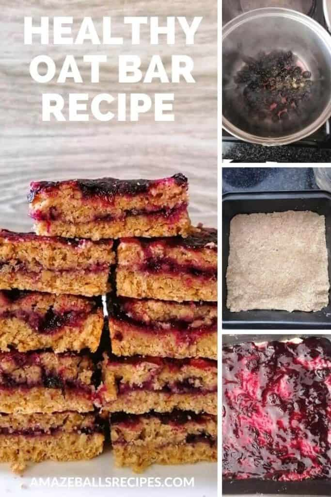 healthy oat bar recipe low calorie