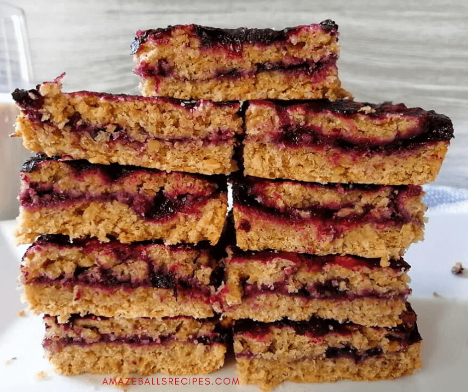 healthy oatmeal bars recipe