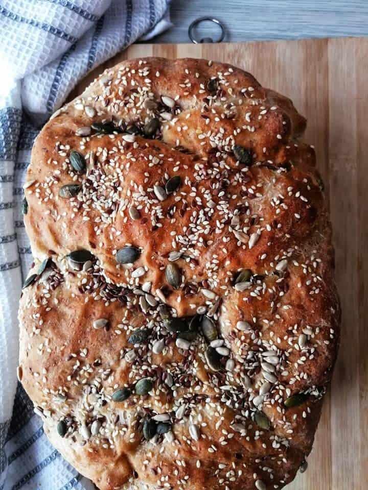 Healthy seed bread recipe