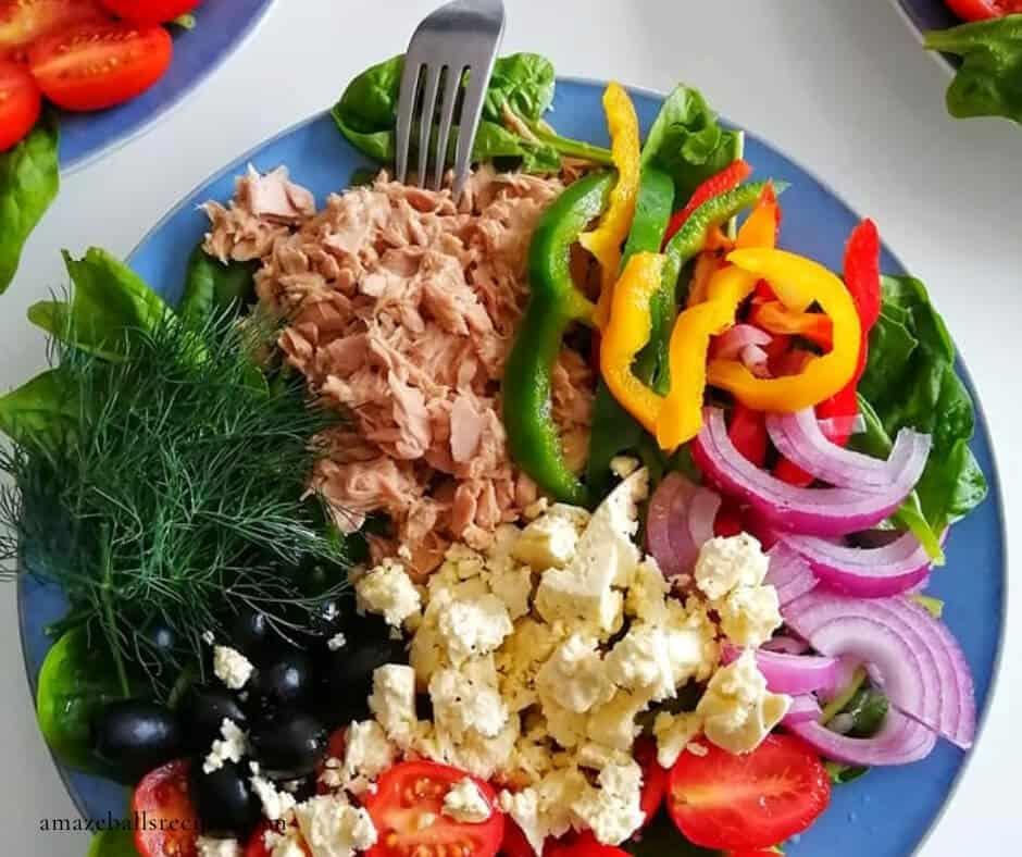 healthy tuna salad without mayo