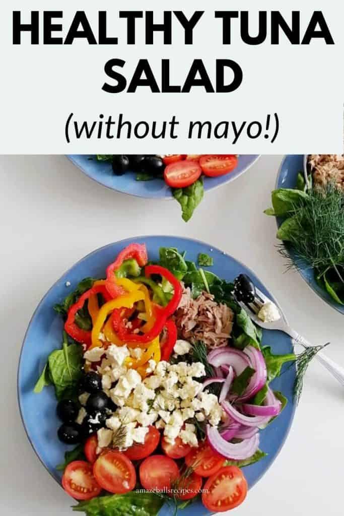 tuna salad recipe healthy